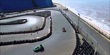 Blackpool Party Activities Go Karting Outdoor