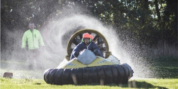 Party Activities Hovercrafting