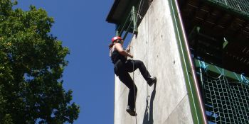 Brighton Hen Activities Abseiling