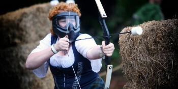 Newcastle Hen Activities Combat Archery