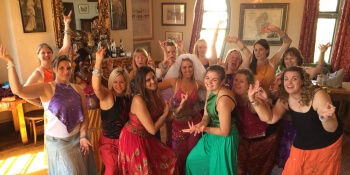 Hen Activities Bollywood Dancing