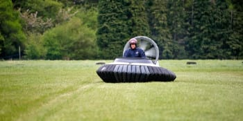 Hen Activities Hovercrafting