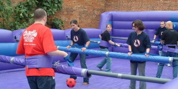 Newcastle Stag Activities Human Table Football