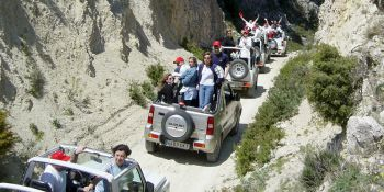 Benidorm Party Activities 4x4 Off Road