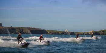 Newquay Party Activities Jet Skiing