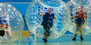 Leicester Birthday Activities Kids Bubble Bump