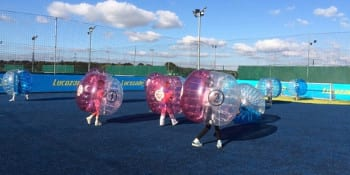 Nottingham Birthday Activities Kids Bubble Bump