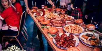 Edinburgh Birthday Activities Man vs Food
