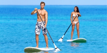 Party Activities Paddleboarding
