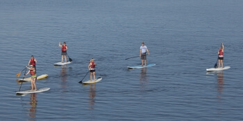 Prague Birthday Activities Paddleboarding