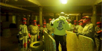 Manchester Stag Activities Paintball Indoor