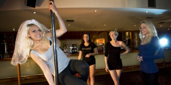 Newcastle Hen Activities Pole Dancing