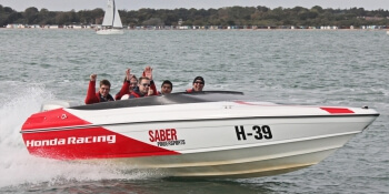 Portsmouth Party Activities Powerboat Thriller