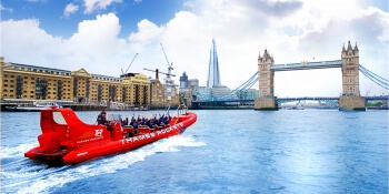 London Party Activities Powerboat Thriller