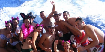 Benidorm Stag Activities Private Yacht
