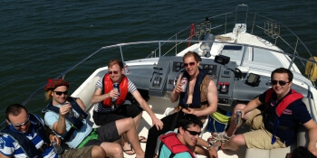 Liverpool Stag Activities Private Yacht