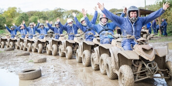 Birthday Activities Quad Bikes