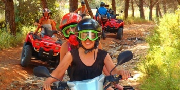 Magaluf Hen Activities Quad Bikes
