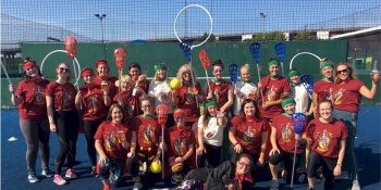 Newcastle Hen Activities Quidditch