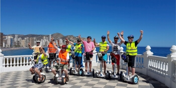 Benidorm Stag Activities Segway
