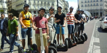 Madrid Stag Activities Segway