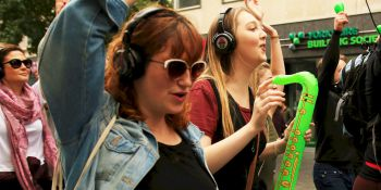 Hen Activities Silent Disco Tour