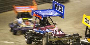 Edinburgh Birthday Activities Stock Car Evening