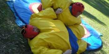 Birthday Activities Sumo Wrestling