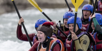 Nottingham Hen Activities White Water Rafting