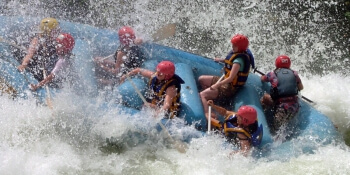 London Party Activities White Water Rafting