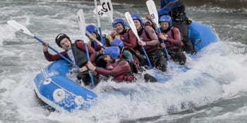 Essex Stag Activities White Water Rafting