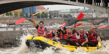 Prague Birthday Activities White Water Rafting