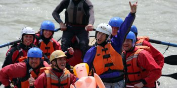 Stag Activities White Water Rafting