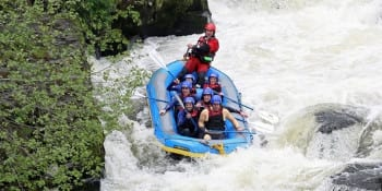 Manchester Birthday Activities White Water Rafting