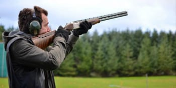 Glasgow Party Clay Pigeons and Party Night Package Deal