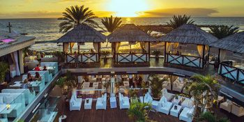 Birthday package Exclusive Beach Club in Tenerife