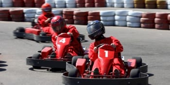 Birthday package Karts Petrol Heads in Edinburgh