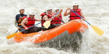 Birthday package PREMIUM - White Water Rafting in Newcastle