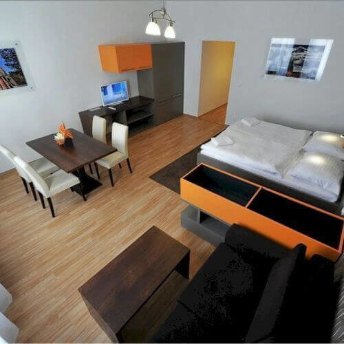 Brno Stag Apartments hotel B&B