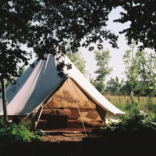 Hen Wiltshire Woodland Glamping Party House
