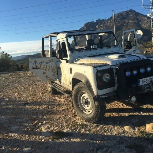 Jeep Safari Benidorm Stag