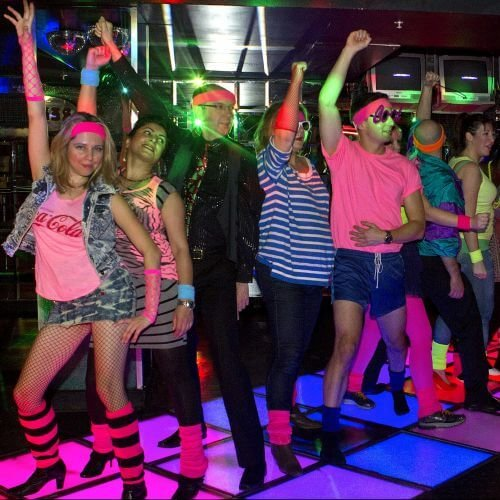 Bath Birthday Activities 80s Dance