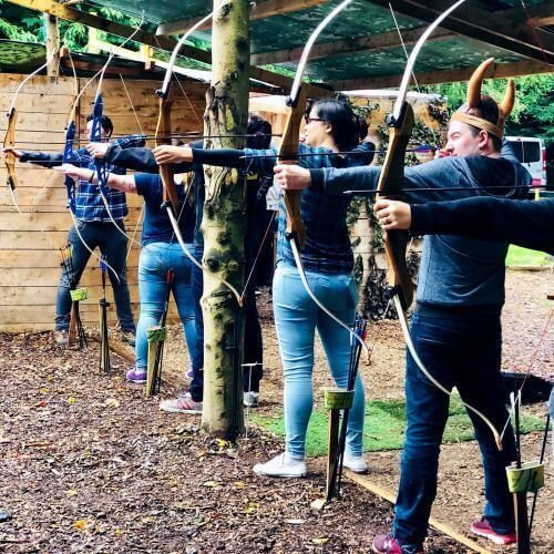 Birthday Archery Activities