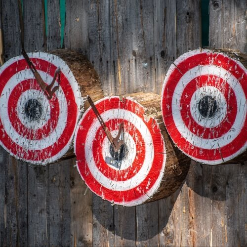 Stag Axe Throwing Activities