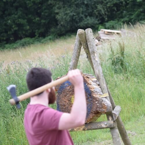 Axe Throwing Birmingham Hen