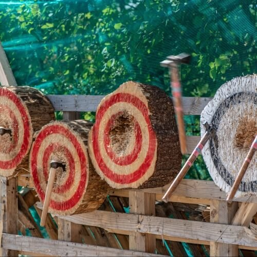 Birthday Axe Throwing Activities
