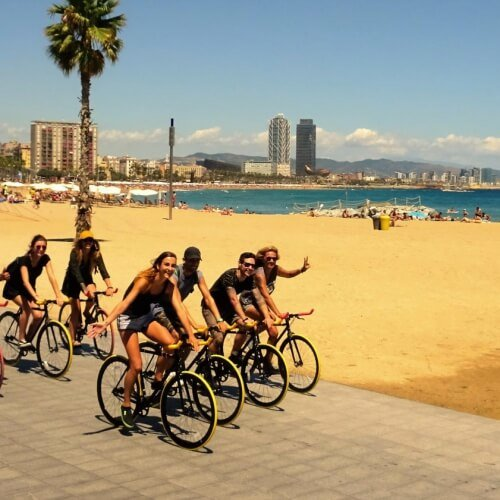 Barcelona Birthday Activities Bike Tour