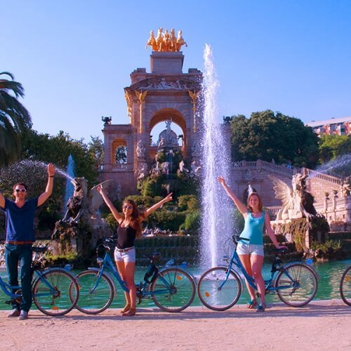 Bike Tour Barcelona Party