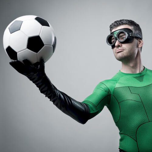 Stag Beer Goggle Football Activities