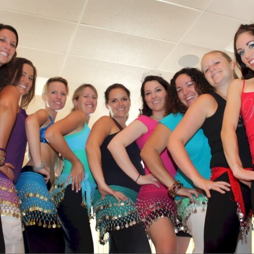 Hen Belly Dancing Activities